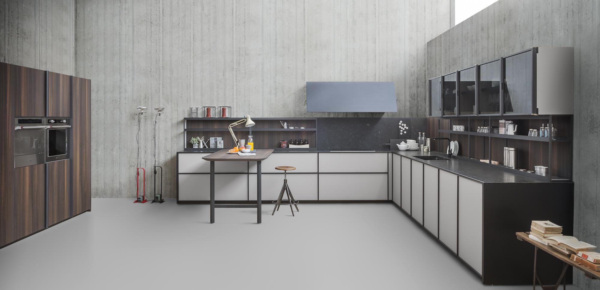 Punto arredo progettazione e realizzazione d 39 interni - Zampieri cucine showroom ...